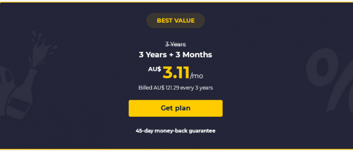 CyberGhost VPN Three Years Plus Three Months Free